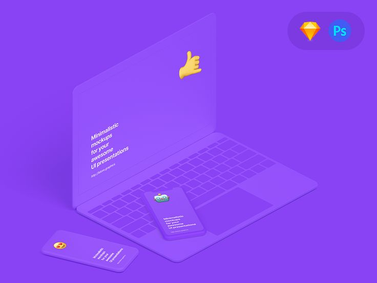 Hey guys 🤟  Check out our latest mockup pack. Minimalist clean devices mockup bundle.  🤗 Change Color Layers (Free version included) ----  Behance Presentation