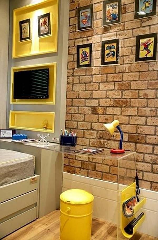 """Selecione algumas ideias para conseguir """"criar"""" mais espaço no apartamento…"""