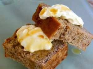 Coconut, banana, feijoa and ginger loaf | Vanessa Baxter