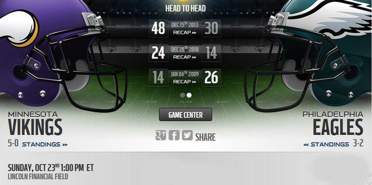 Vikings vs Eagles live stream  more :: http://vikingsvseagleslivestream.us/
