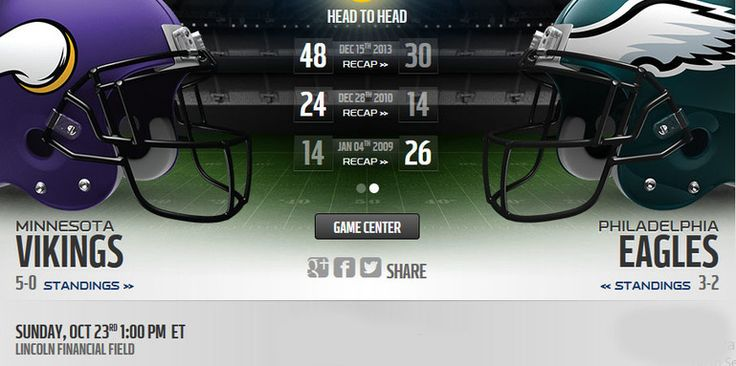 Vikings vs Eagles live stream  more :: http://vikingsvseagleslivestream.us/