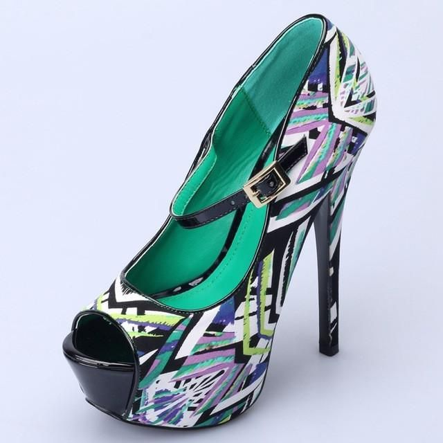 summer black pumps women party shoes platform