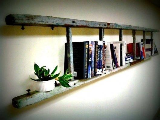 Old Ladder Bookshelf 529 x 397