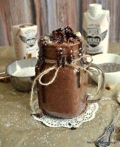 Σοκολατένιο smoothie καρύδας