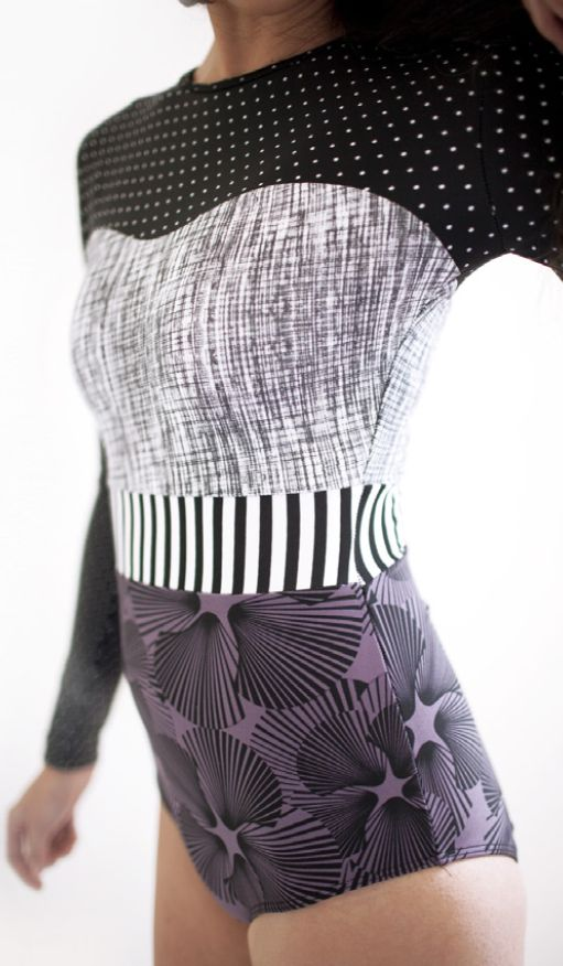 Seea Hermosa Surf Suit in Purple Shell