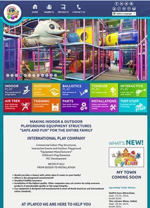 International Play Company Launches Exciting New Website For Commercial Playgrounds - press relase #PlaygroundProfessionals #PlaygroundMagazine #PGP #Iplayco  www.iplayco.com
