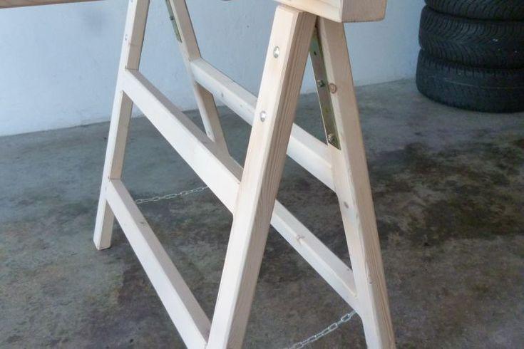 Arbeitsböcke, Klappböcke, Holzböcke klappbar (mit Bildern ...
