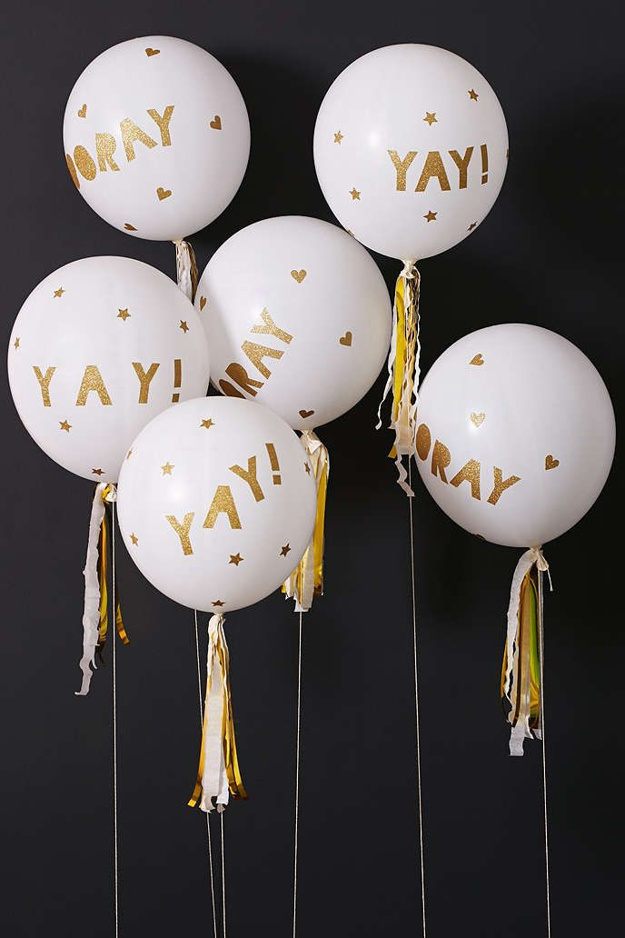 Meri Meri Glittered Balloon Party Kit - Urban Outfitters