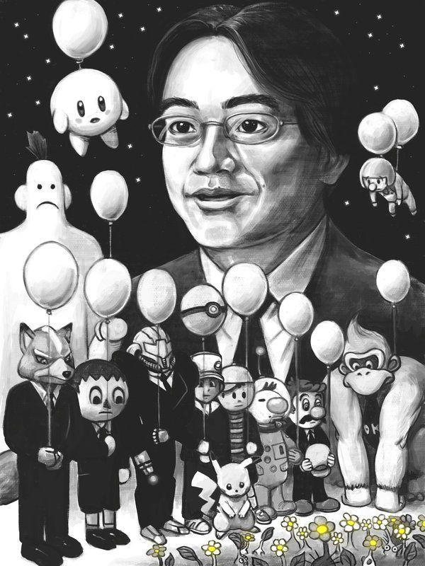 In memory of Satoru Iwata by fedde