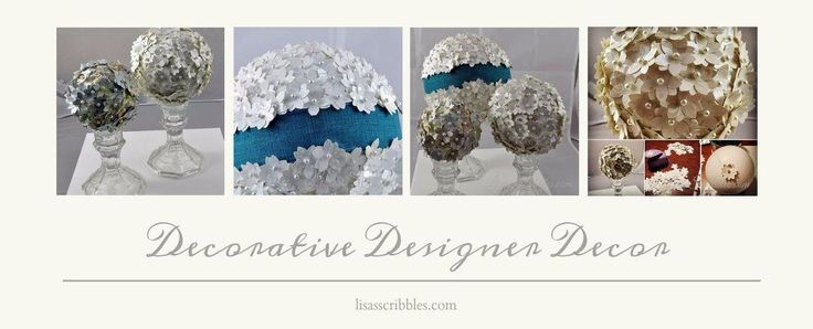Designer Christmas decor? Yes! Rustic Vintage wedding? Yes!  I'm going to admit I have a couple addictions, shoes, and DIY. So whenI get creative things like Decorative Designer Decor coming into being... Some of you may…