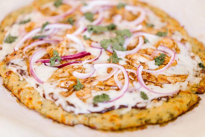 Recipe Box Cauliflower Crust Bbq Chicken Pizza Bbq Chicken