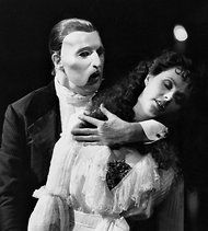 Sarah Brightman and Michael Crawford in the original Broadway production of The Phantom of the Opera, which is the longest running show on Broadway. Check out the title song on Curtain Critic's Spotify playlist: http://spoti.fi/HhWIeU
