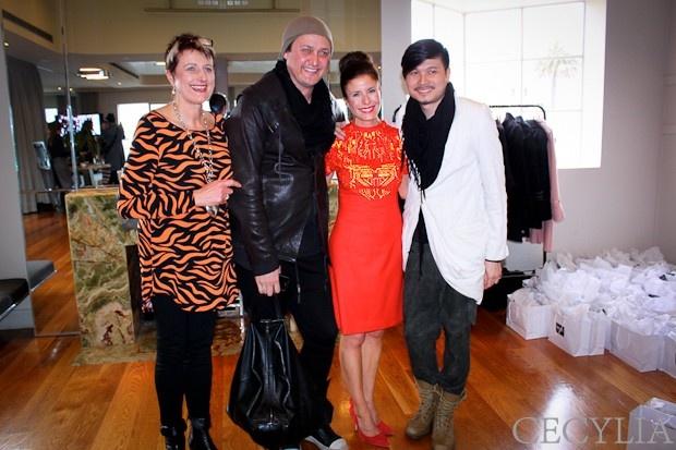 Cheralyn Price, Luka, me and Lui Hon