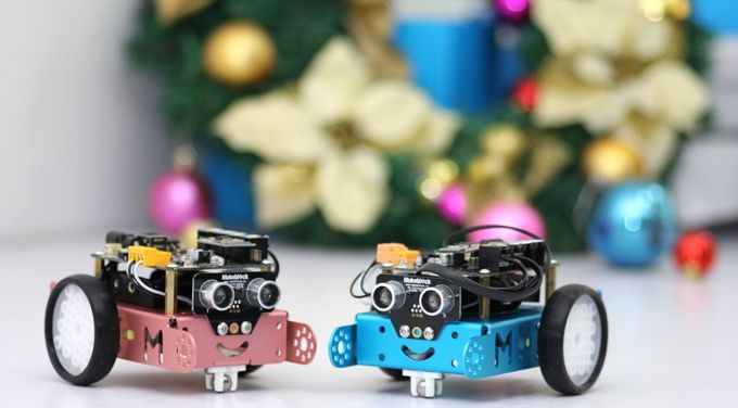 mBot: $49 educational robot for each kid by Makeblock — Kickstarter.  ONE ROBOT PER KID. mBot is the easiest educational robot for kids to learn programming, Arduino and robotics.