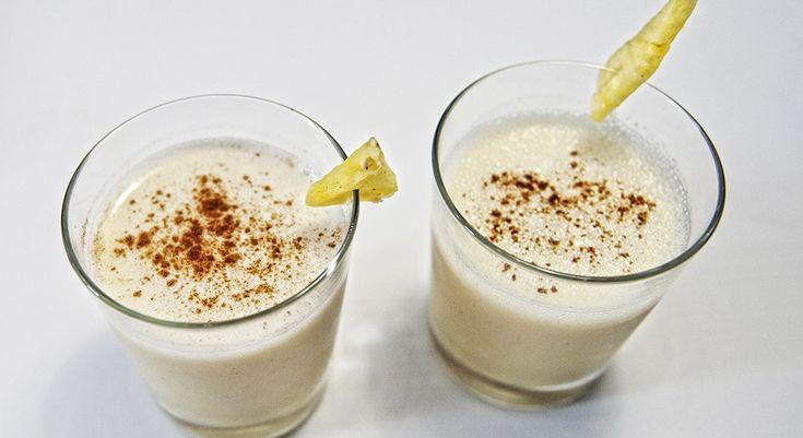 Come preparare lo smoothie di ananas e zenzero