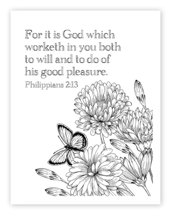 Bible Study - Faith \ Provision - Week 2 - Part 2 Stress reliever - copy free coloring pages for easter religious
