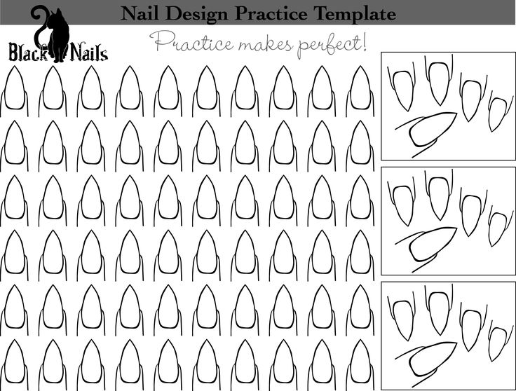 28 best Ongles images on Pinterest | Nails shape, Cat nails and Nail art