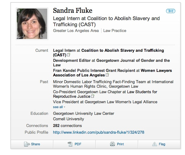 Sandra Fluke: A Fake Victim of Georgetown's Policy on Contraceptives?  Posted on March 3, 2012