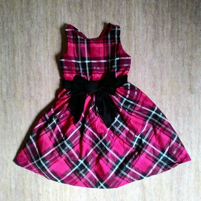 Gymboree red/black dress 8y 99rb