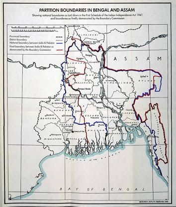 1947 :: Mountbatten Plan led to Partition of Bengal and Punjab