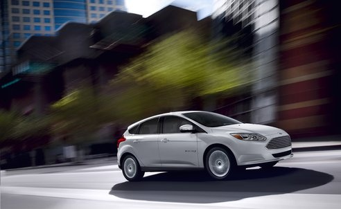 2013 Ford Focus Electric gets 5-star safety rating from NHTSA