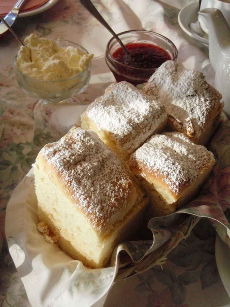Devonshire Tea, with  Giant Scones,Miss Marple's Tea Room in sassafras  ....these were consumed over christmas!
