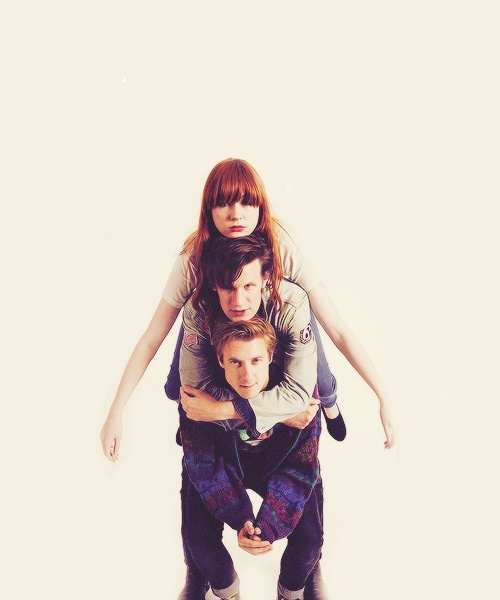 Doctor Who -  11th Doctor, Amy Pond, and Rory