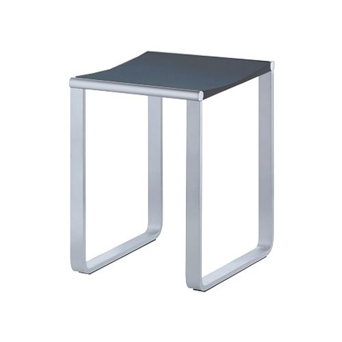 keuco elegance shower stool colours available with dark grey light