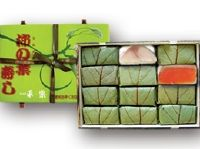 柿の葉ずし 平宗 鯖鮭12入