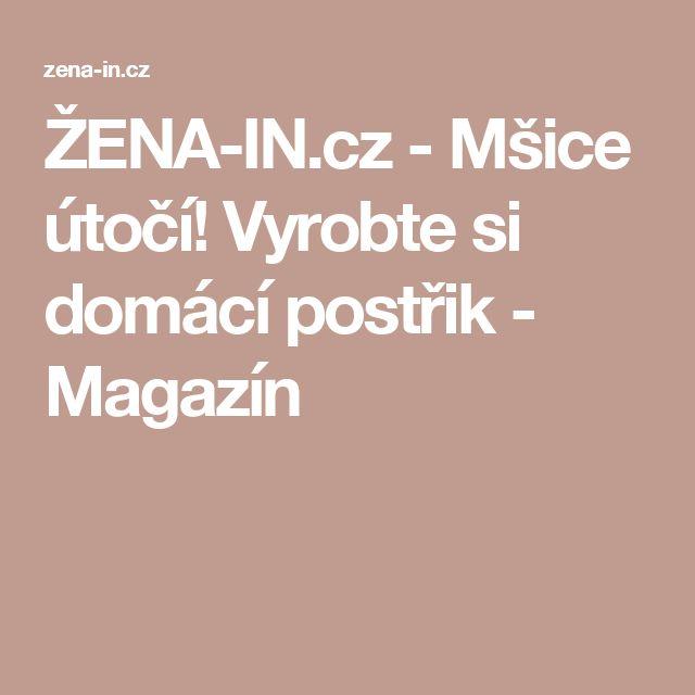 ŽENA-IN.cz - Mšice útočí! Vyrobte si domácí postřik - Magazín