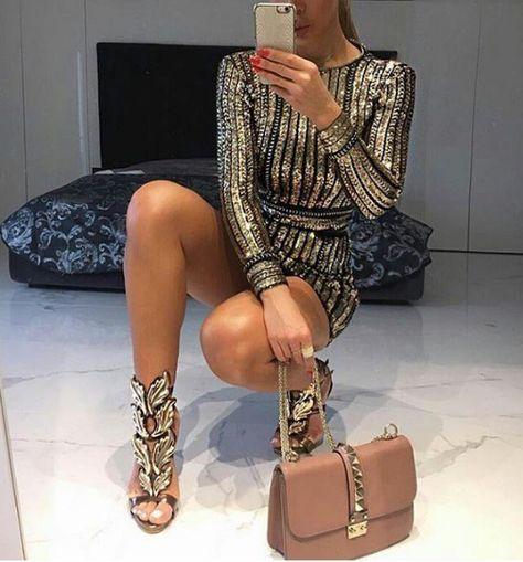 Cómo lucir sexy en el antro con vestidos para eventos formales