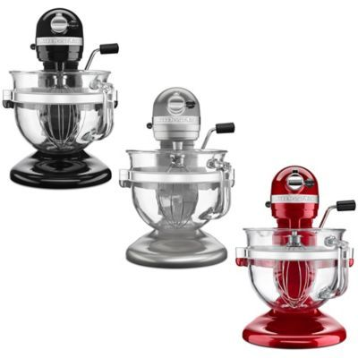 KitchenAid® Pro 600 Stand Mixer with 6-Quart Glass Bowl - BedBathandBeyond.com