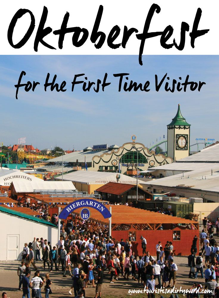 First Time Visitor's Guide to Oktoberfest