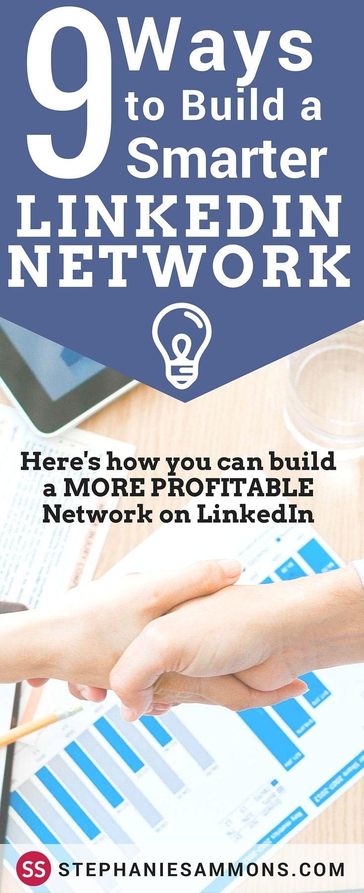 best ideas about linkedin network linkedin com how to build a smarter linkedin network