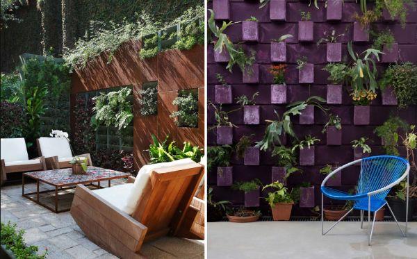 1000 images about muros e fachadas on pinterest madeira - Plantas trepadoras para muros ...