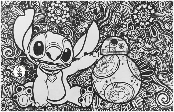 Coloriage Mandala Stitch Best Of Unexpected Friends By