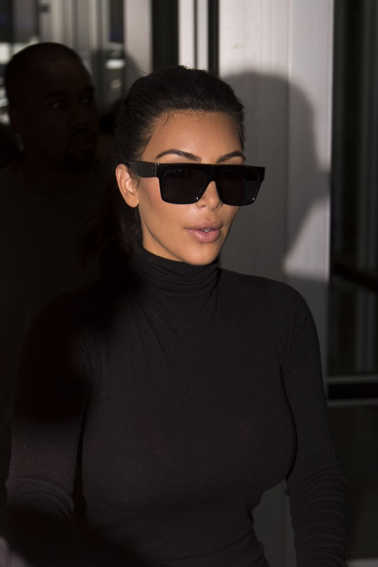 "kimkanyekimye: "" Kim & Kanye leaving the Adelaide airport 9/8/14 """