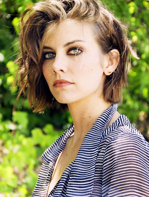 Lauren Cohan. She is stunning.