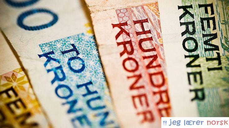 norsk penger