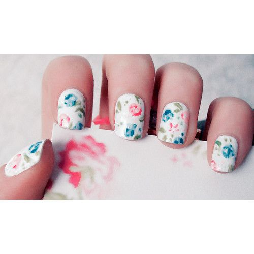 #nails #decor #flowers