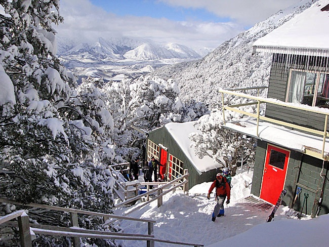 Snowboard @ Broken River clubfield, Canterbury, NZ