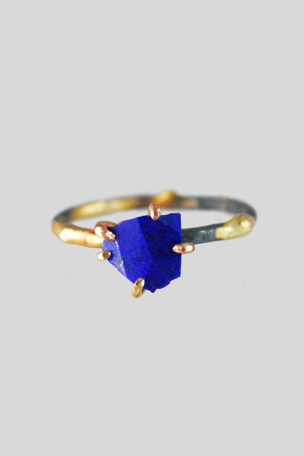 Variance Objects Lapis Ring