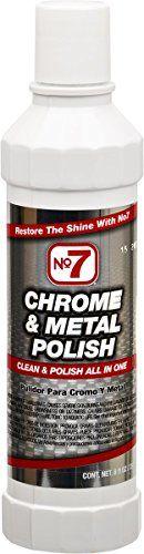 No7 10120 Chrome & Metal Polish - 8 oz