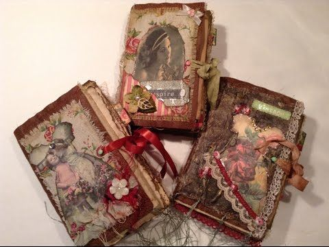 Trio of Faux Leather Journals - YouTube