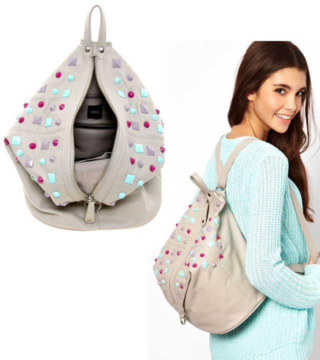 17 Best ideas about Chic Backpack on Pinterest