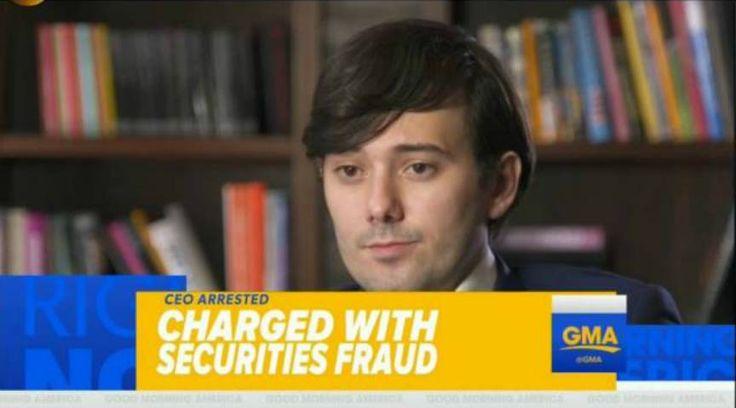 Martin 'Pharma Bro' Shkreli Resigns After Being Arrested For Securities Fraud | VannDigital.com