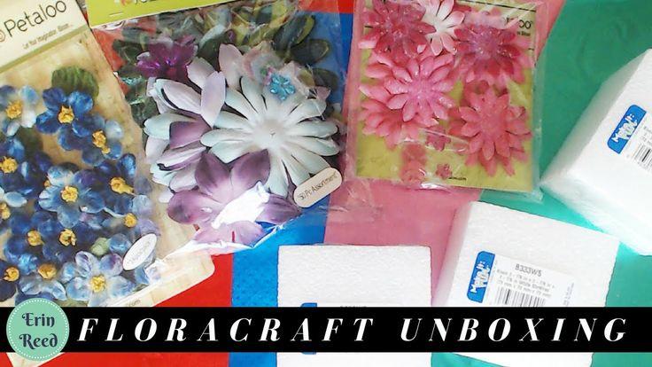 Flowers, Styrofoam, & Foil Unboxing .... WOW!
