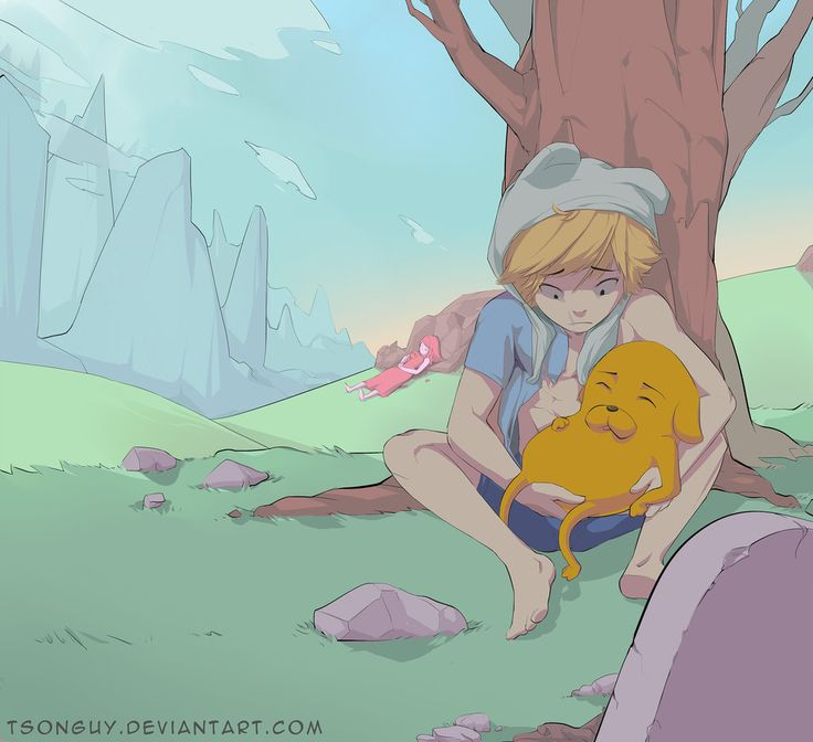Adventure Time - Jake the dog and Finn the human by TsongUy on ...