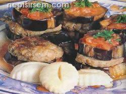 Patlıcanlı Paşa Kebabı (5 Kişilik) tarifi