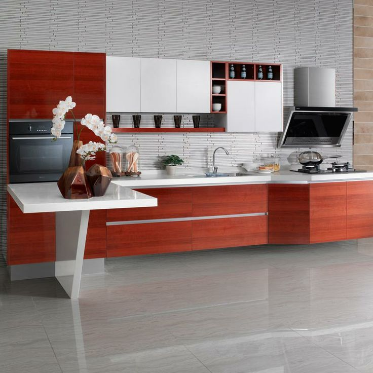 Modern Kitchen Shelf Design: 31 Best High Pressure Laminate Series Oppein Kitchen